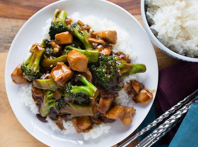 20 minute teriyaki chicken broccoli stir fry 501