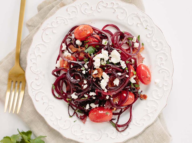 5 ingredient spiralized beets 5011