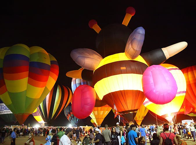 Balloon Spooktacular  Scottsdale in Arizona