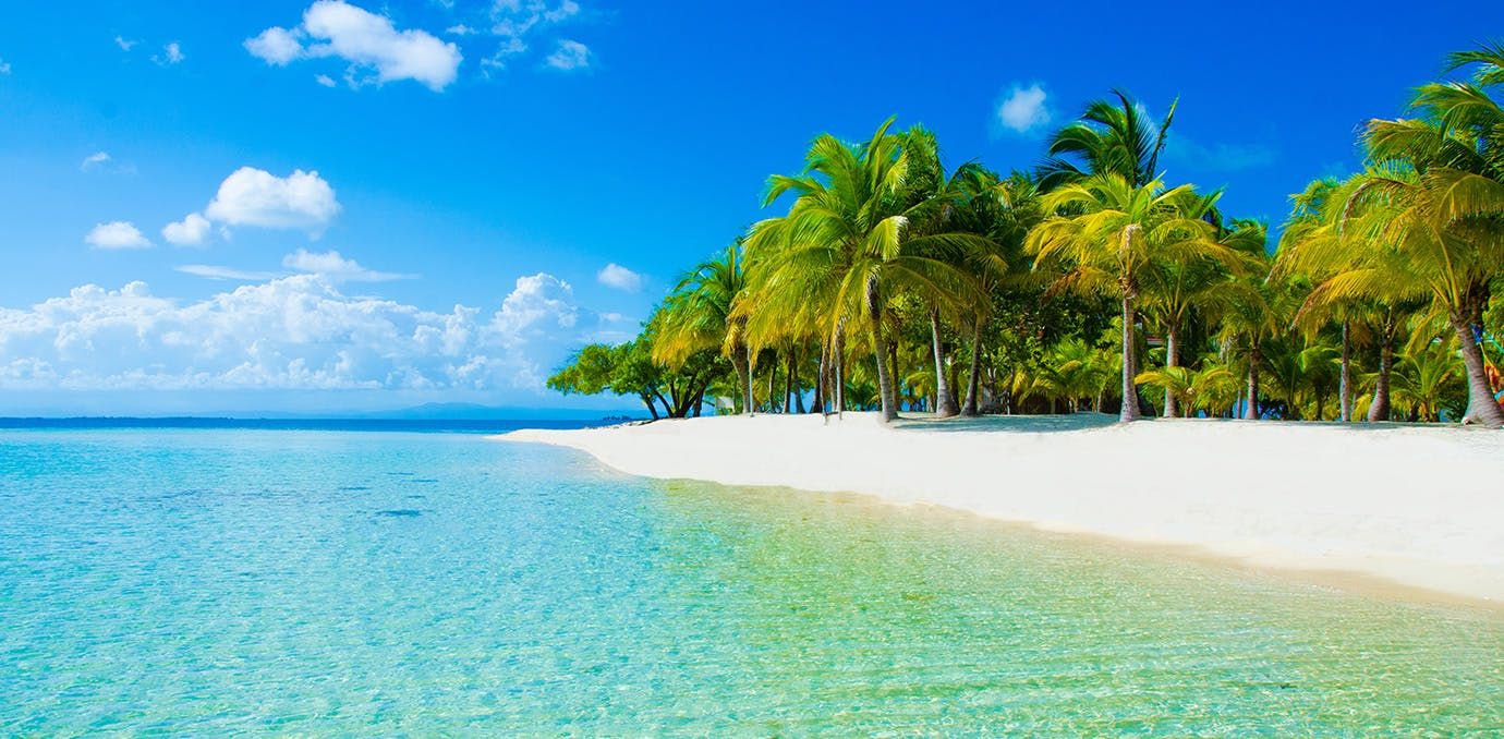 Beautiful beach in Belize  Central America s least visited country