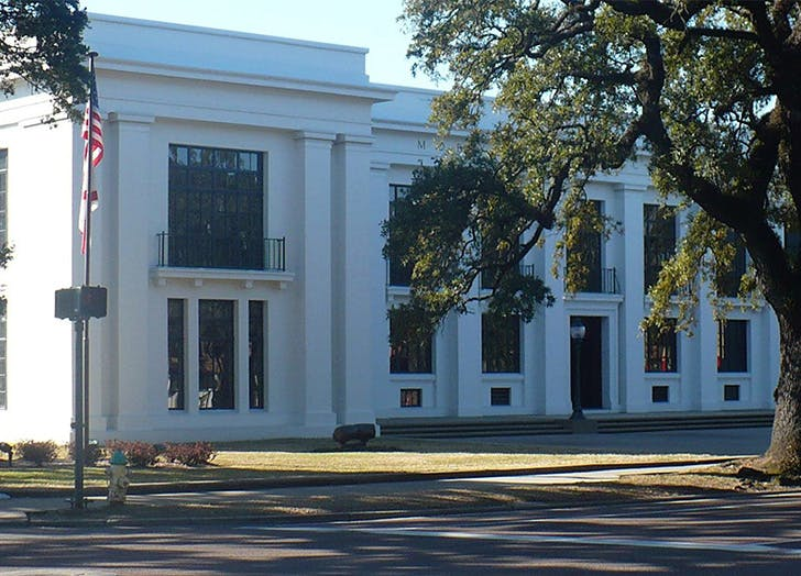 Ben May library in Alabama