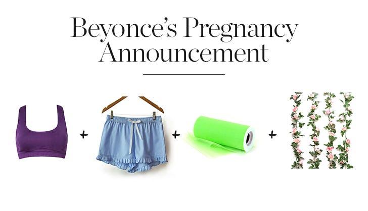 Beyonce s Pregnancy Announcement