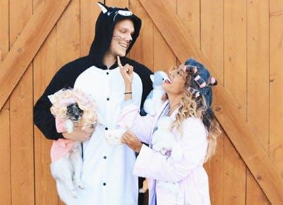 Crazy Cat Lady Couples Halloween Costume 400