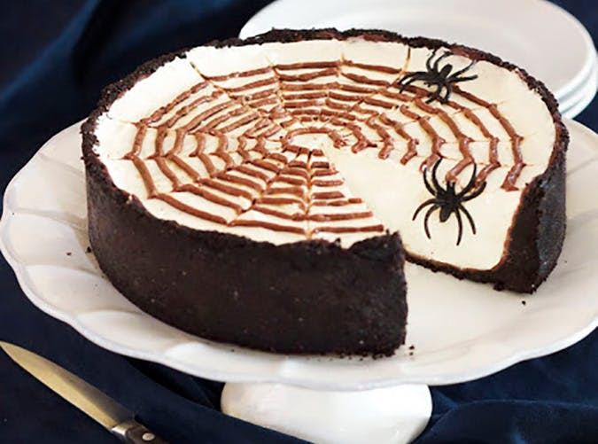 Delicious No Bake Halloween Cheesecake recipe