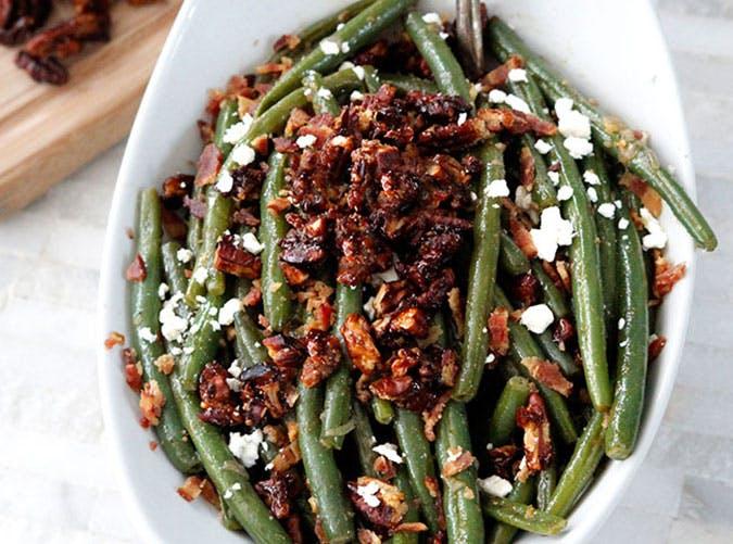 Dijon Maple Grean Beans Recipe