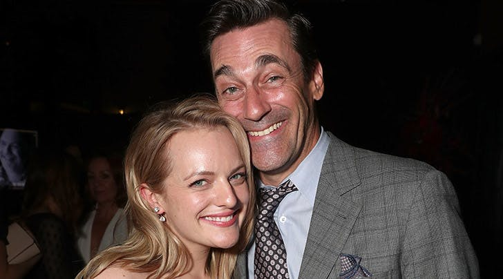 Jon Hamm Fangirled Over Former 'Mad Men' Costar Elisabeth Moss at an Emmys After-Party