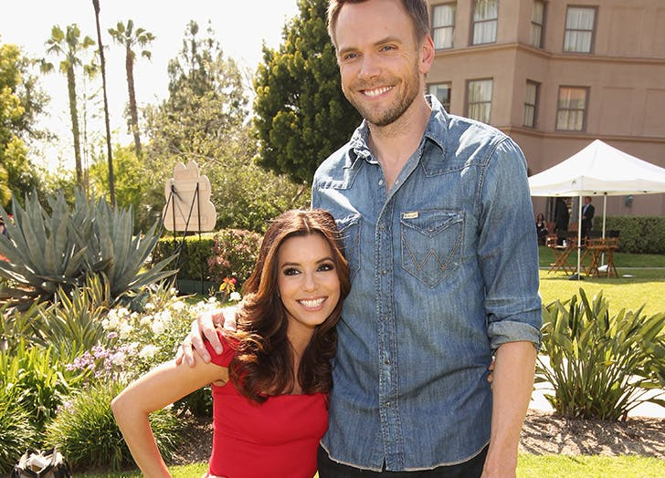Eva Longoria and Joel McHale