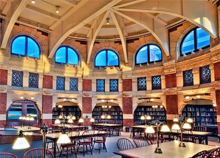 Fisher Fine Arts Library in Pennsylvania