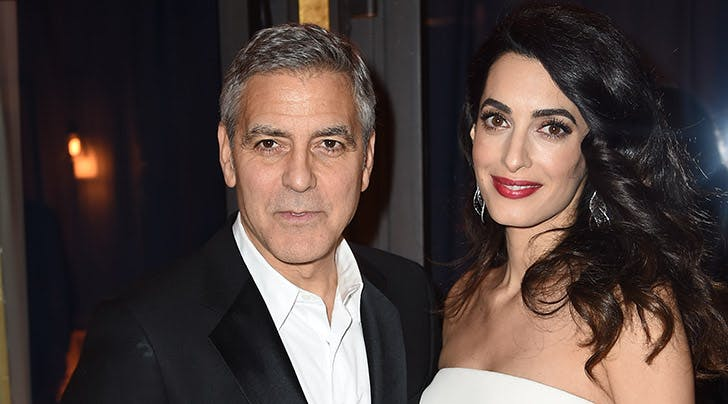 George Clooney Is a Sleep-Deprived, Diaper-Changing Whiz
