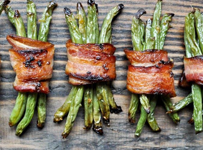Green bean bacon bundles1
