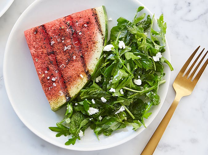 Grilled Watermelon Steaks vegetarian whole30 recipes