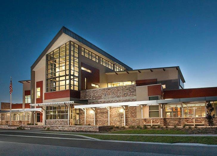 Gulf Gate Library in Sarasota Florida
