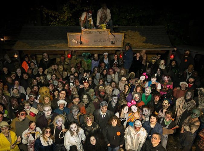 Halloween Trail of Terror in Wallingford  Connecticut