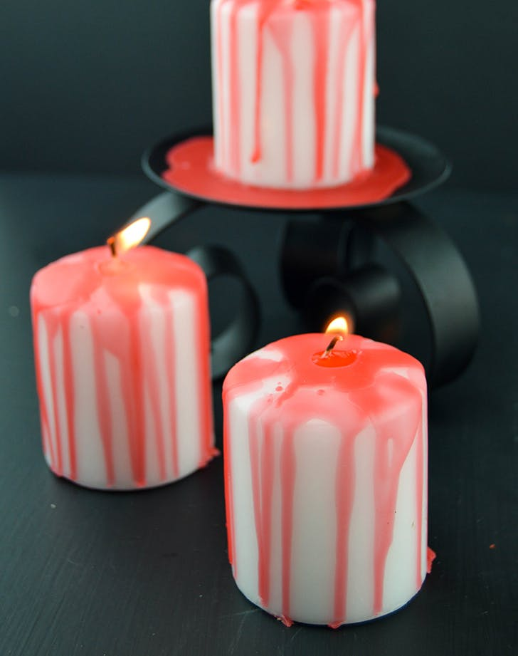 Halloweendecorideas candles