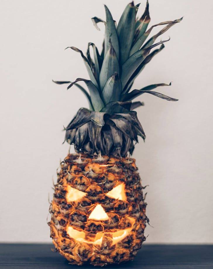 Halloweendecorideas pineapple