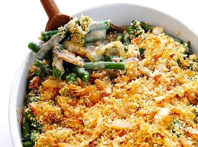 Healthier Green Bean Casserole Recipe