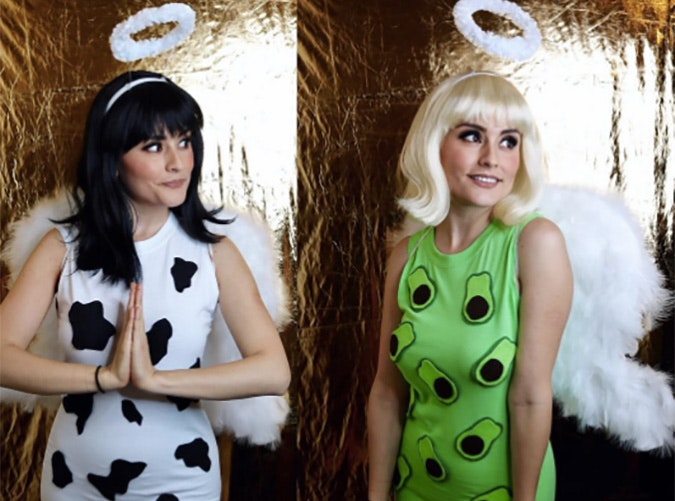 Holy Cow Holy Guacamole funny Halloween costume idea  sc 1 st  PureWow : fun female halloween costumes  - Germanpascual.Com