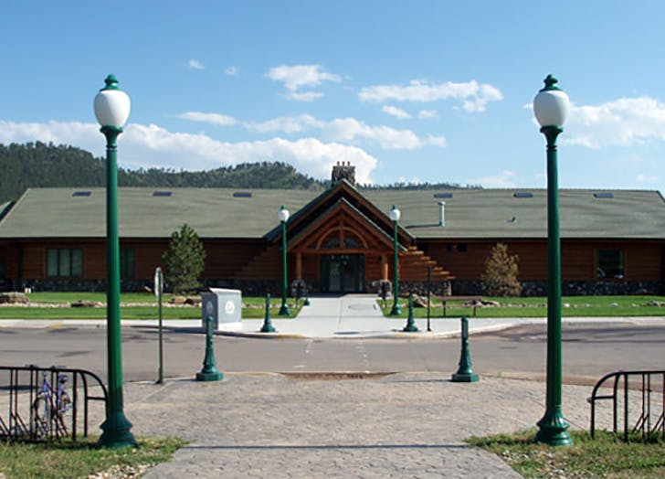 Hot Springs Public Library in South Dakota