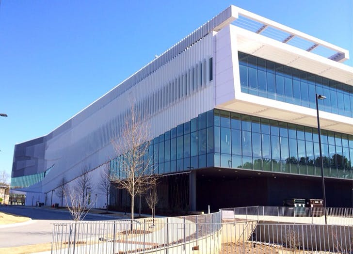 James B Hunt Library in Raleigh