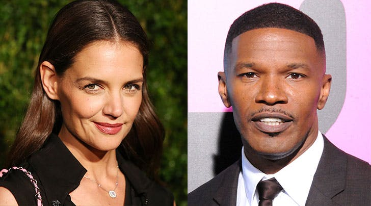Katie Holmes & Jamie Foxx Love Laughing, Dogs and Long Walks on the Beach