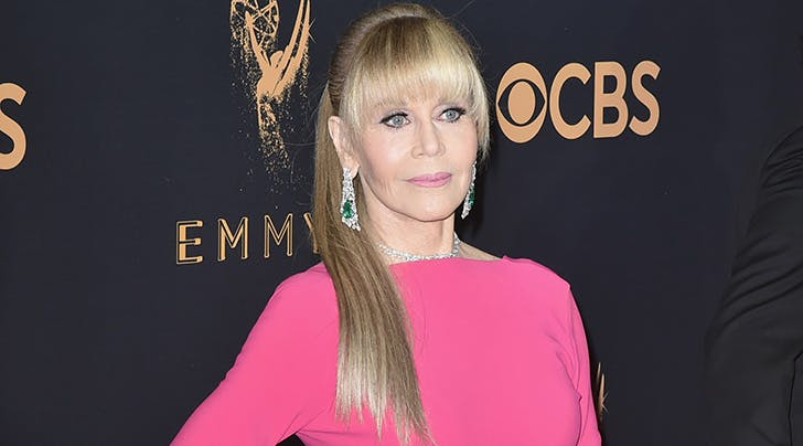 A Fabulous Blond Ponytail Brought Jane Fonda as Its Date to the Emmys