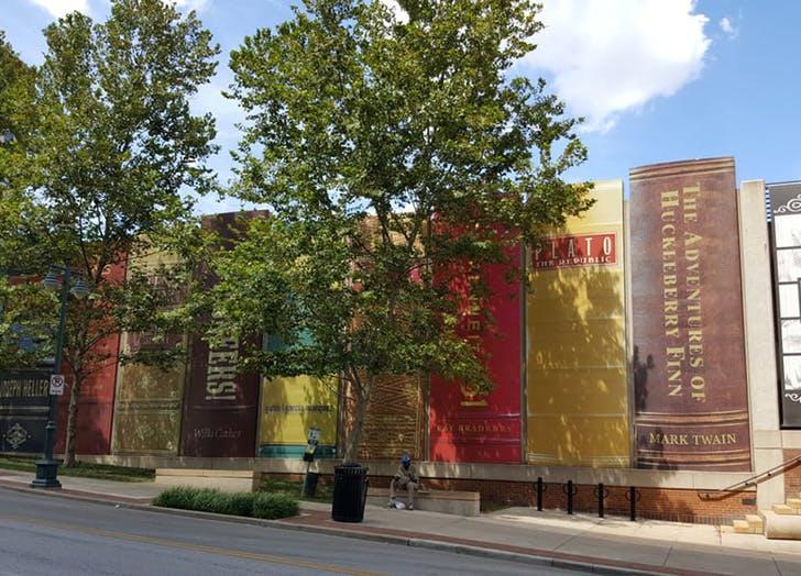 Kansas City Public Library in Missouri