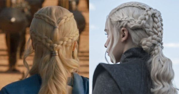 The Hidden Meaning Behind Daenerys Targaryen S Hair Purewow