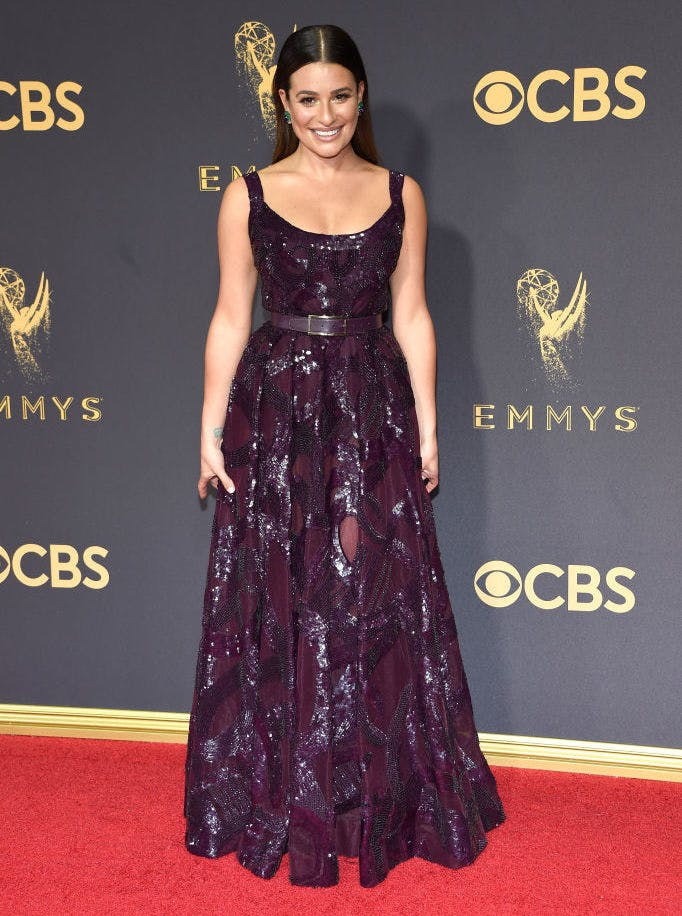 Lea Michele  Kevin Mazur Getty Images