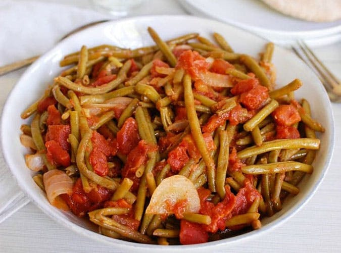 Lebanese Green Beans Lubee Recipe