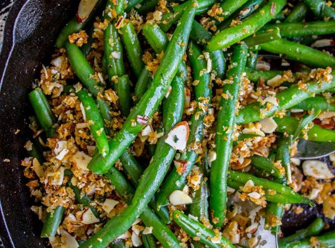 Make Ahead Green Beans recipe
