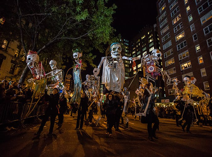 New York  The Village Halloween Parade  NYC