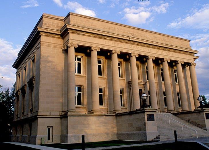 North Dakota State Library exterior