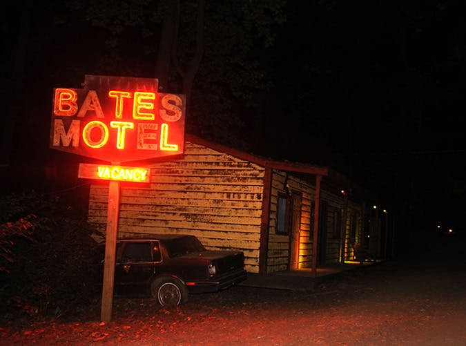 Pennsylvania  The Bates Motel and Haunted Hayride  Arasapha Farm