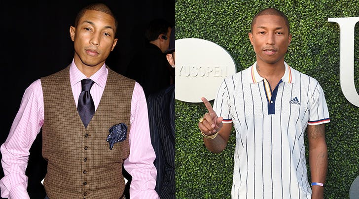 Heres the Secret to Pharrell Williamss Ageless Skin (Hint: Its Not Because Hes a Vampire)