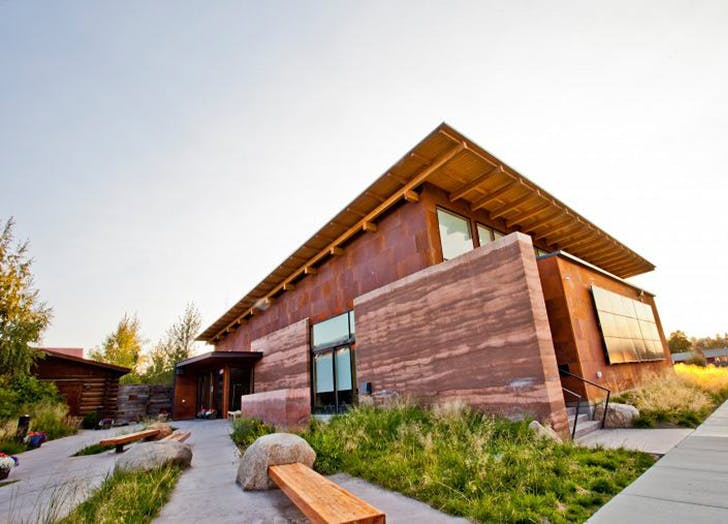 Pinedale Library in Wyoming