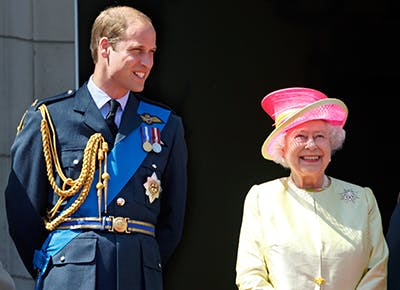Prince William the Queen King 400