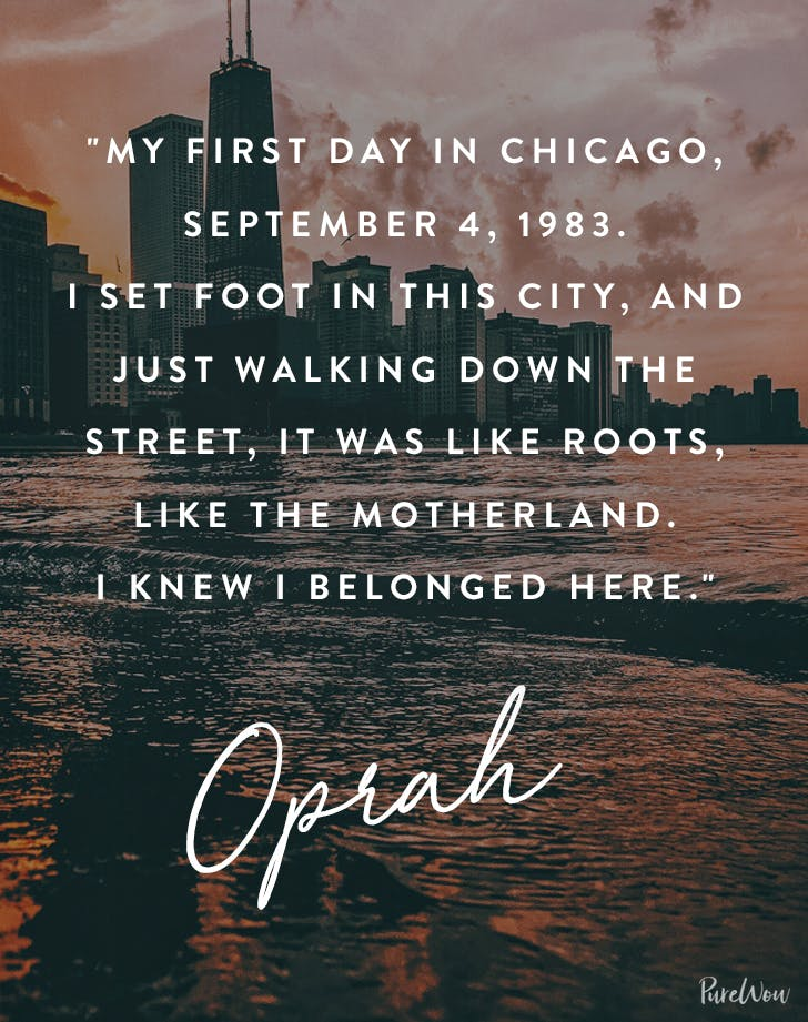 Chicago Quotes 10 Great Quotes About Chicago   PureWow Chicago Quotes