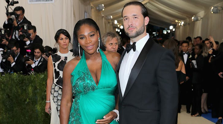 It's a Girl! Serena Williams & Fiancé Alexis Ohanian Welcome First Child