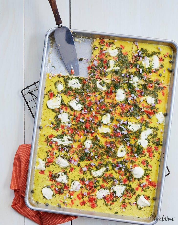 Sheet Pan Eggs recipe