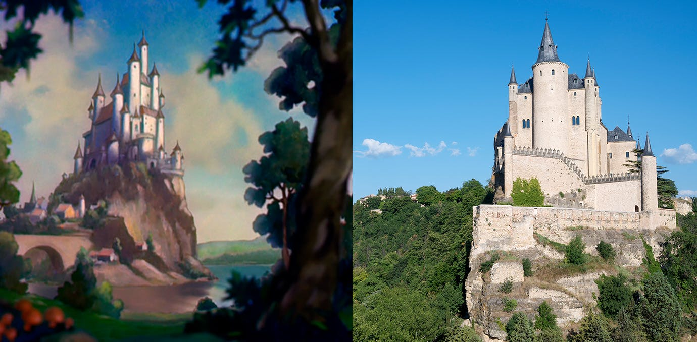 Snow White Disney real life castle