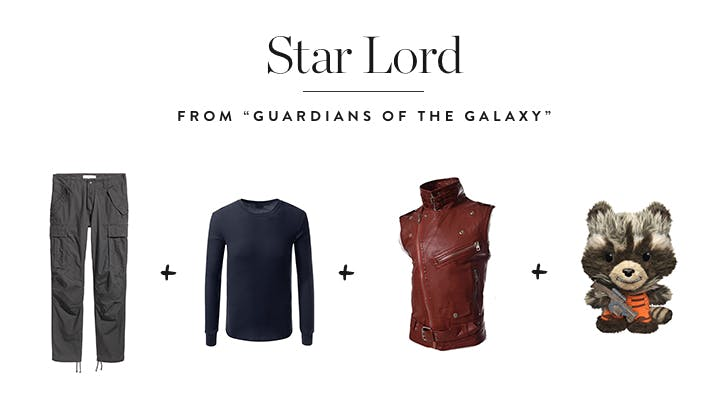 Star Lord from  Guardians of the Galaxy