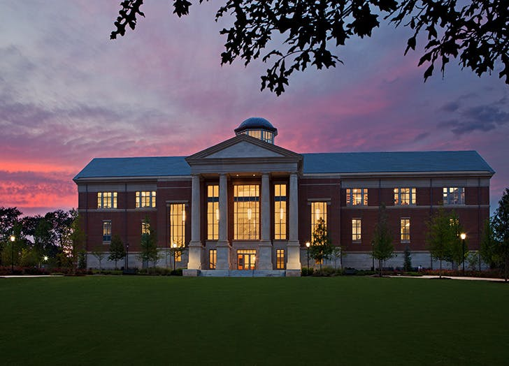 The Hargrett Rare Book and Manuscript Gallery at the University of Georgia