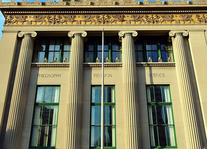 The Wilmington Public Library in Delaware