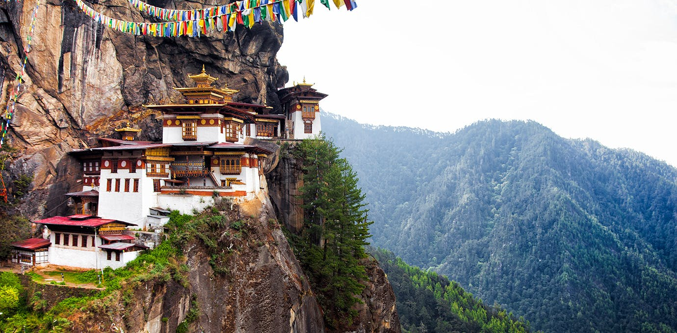 Tiger s Nest at Paro Bhutan1