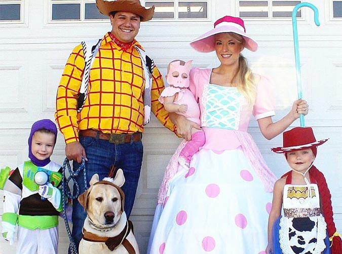 toy story halloween family costume idea sc 1 st purewow