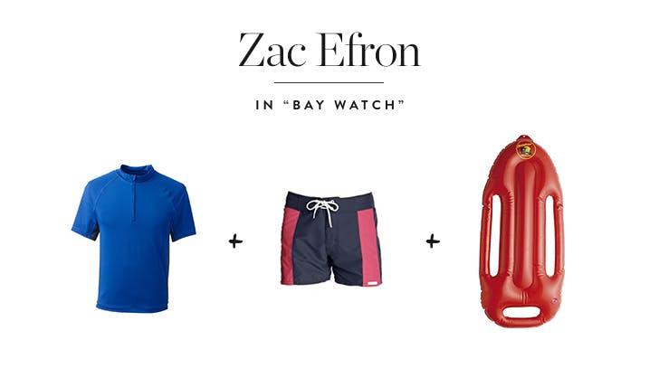 Zac Efron in  Bay Watch