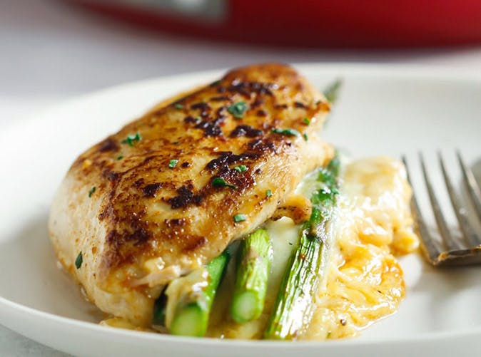 asparagus stuffed chicken breast 501