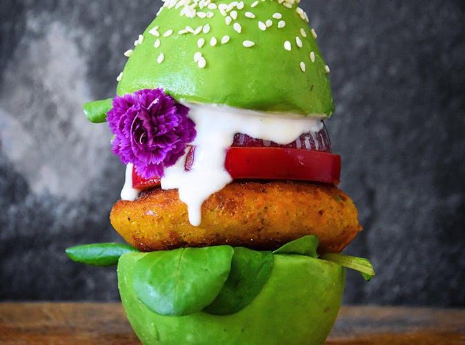 avocado burger bun 501