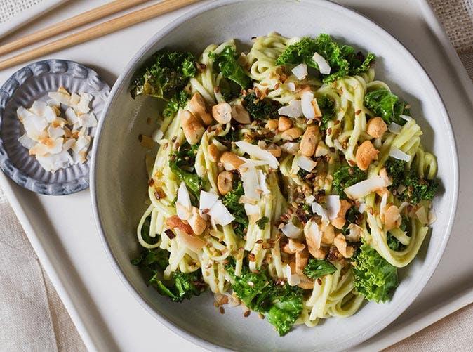avocado coconut curry noodles 501