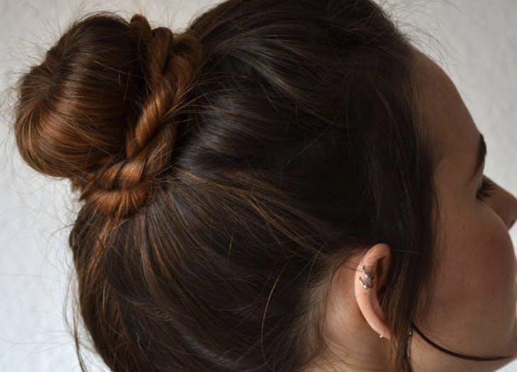 bad hair day bun